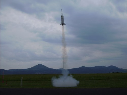 Tschechien Modellraketenflugtag
