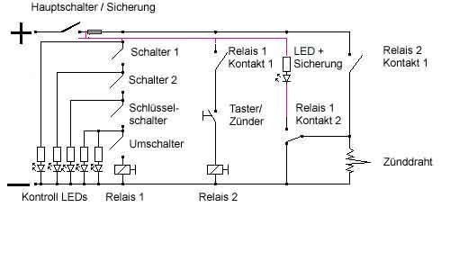 Groß Schaltpläne Für Mehrere Lichtschalter Bilder - Der Schaltplan ...