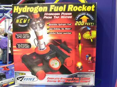 Estes Wasserstoffrakete 3