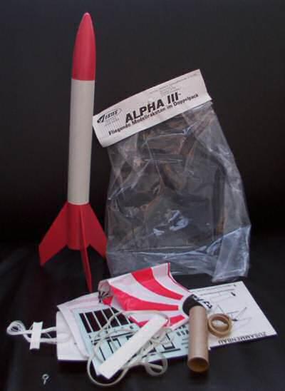 Alpha III Estes 2