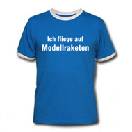 Modellraketen T-Shirt
