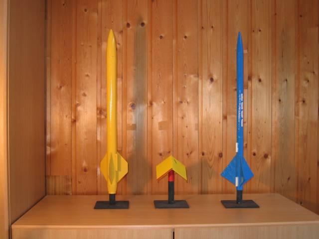 Ständer für Modellraketen