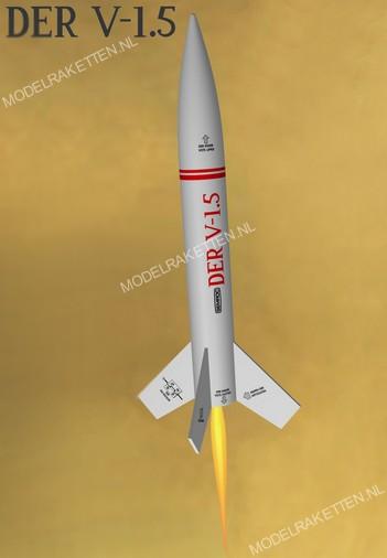 Der V-1.5 Modellrakete