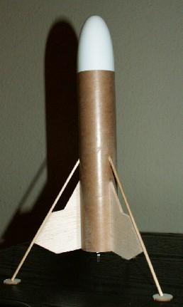 Baby Bertha Space Probe