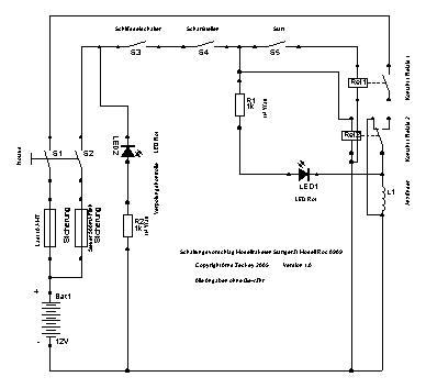 Modellraketenstartgerät Roc0909