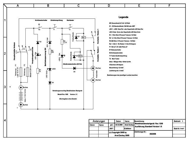 Modellraketenstartgerät Roc 1205 Release 1,5