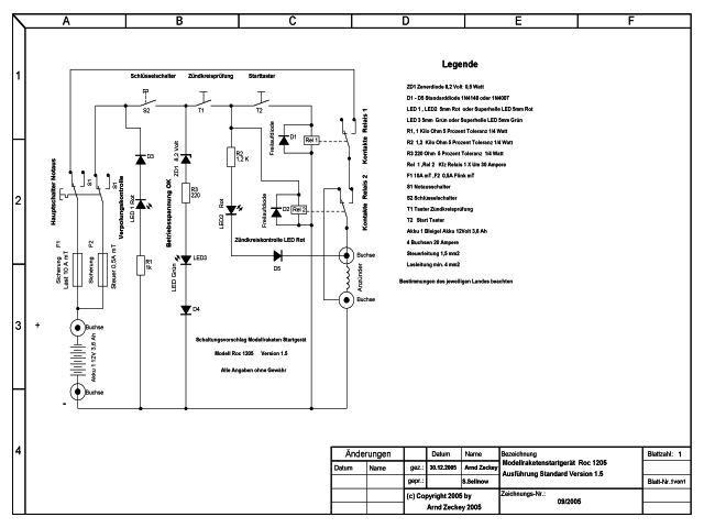 Modellraketenstartgerät Roc 1205 Release 1.5
