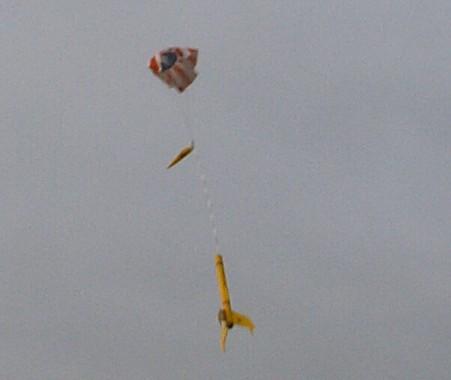 Starwing Landung