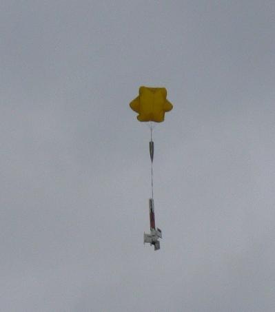 Disruptor Landung