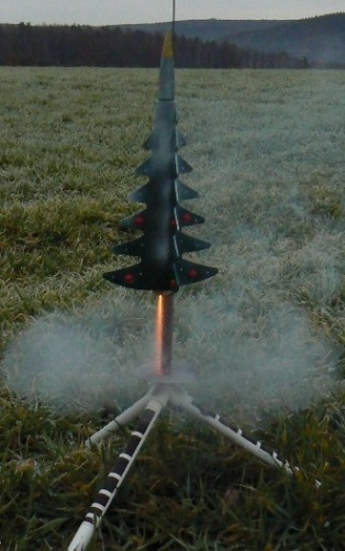 Baum-Rakete