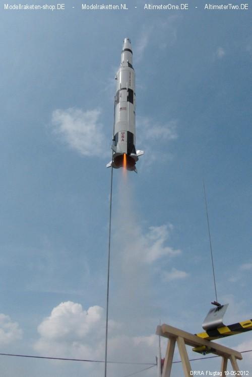 Start der Saturn-V